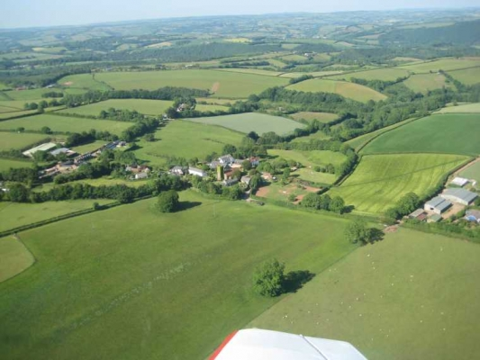 Aerial view of Stoodleigh
