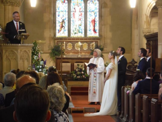 Services:  Wedding 11th July 2015